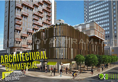 Get 3D Architectural Exterior Rendering, Modeling and CGI
