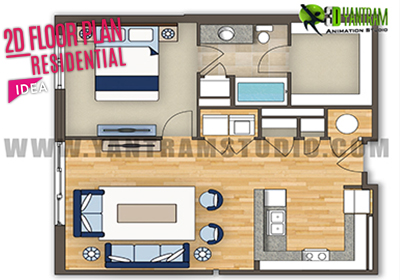 2D-Residential-Floor-Plan