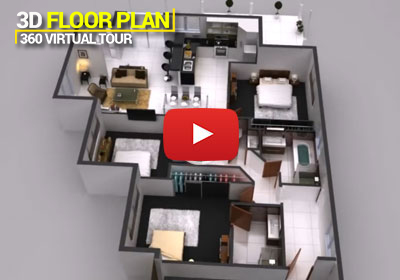 3D Interior Floor Plan 360 Virtual Tour