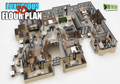 Luxurious 3D Floor Plan Maker