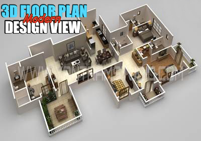 Modern 3D Floor Plan Design Creator