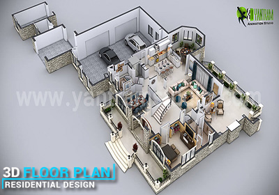House 3d Floor Plan