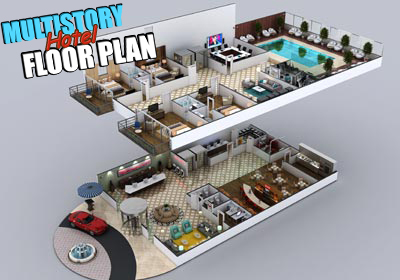 multi-story-hotel-3d-floor-plan-design-ideas